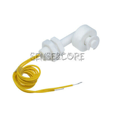 Liquid Water Level White Sensor Right Angle Float Switch DC 220V For Fish Tank - Liquid Level Switch