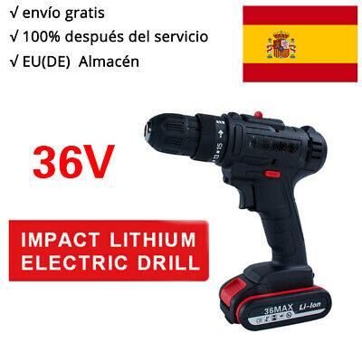 36V 1500RPM Taladro atornillador perforador inalambrico Destornillador eléctrico