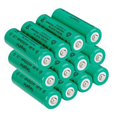 New TangsFire 12 Pcs 3300mAh 1.2V Ni-MH Rechargeable AA Battery for MP3 Torch on Rummage