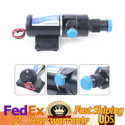 Sewerage Waste Water Pump 45lmin Centrifugal Mount Macerator For Yacht Toilet