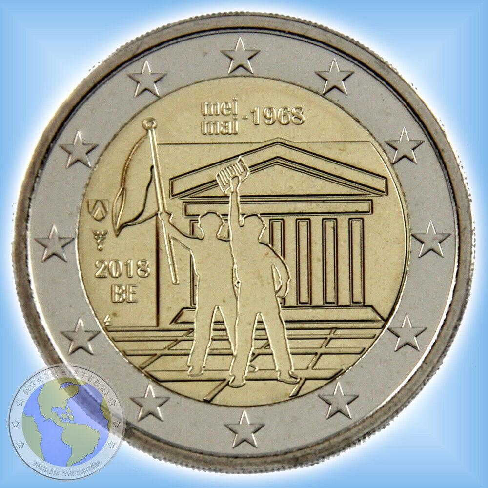 2 Euro BELGIEN 2018