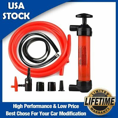 High Quality Car Auto Hand Oil Gas Water Liquid Syphon Transfer Pump Hose Siphon