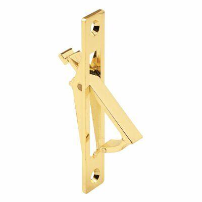 Slide-Co 161496 Pocket Door Flush Pull, Brass Plated