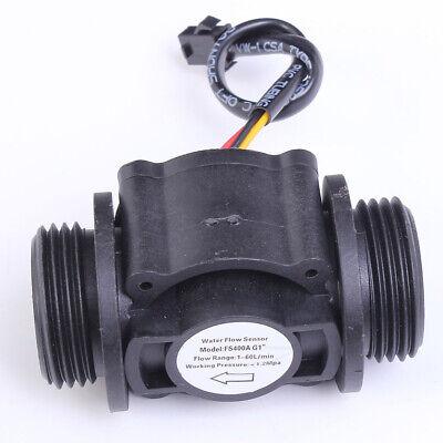 Fs400a Water Flow Hall Sensor Switch 1 Inch Flowmeter Flow Meter Counter 1-60lm