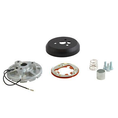 3-Hole Matte Black Steering Wheel Adapter for Ford Trucks/Vans/Bronco 69-91