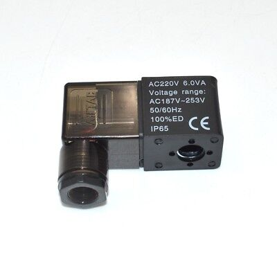Air Solenoid Valve 9mm Dia Pneumatic Control Coil Ac 220v 1pc
