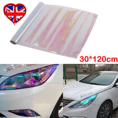 Chameleon Tint Film Sticker Headlights Fog Rear Light Tail Car Vinyl Wrap Sheet