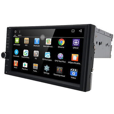 "Quad Core Android 6.0 3G WIFI 7"" Double 2DIN Car Radio Stereo GPS Navi DAB+ OBD"