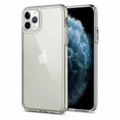 Custodia iPhone 11 Pro Max Trasparente Spigen Ultra Hybrid Antiurto Bordo Clear