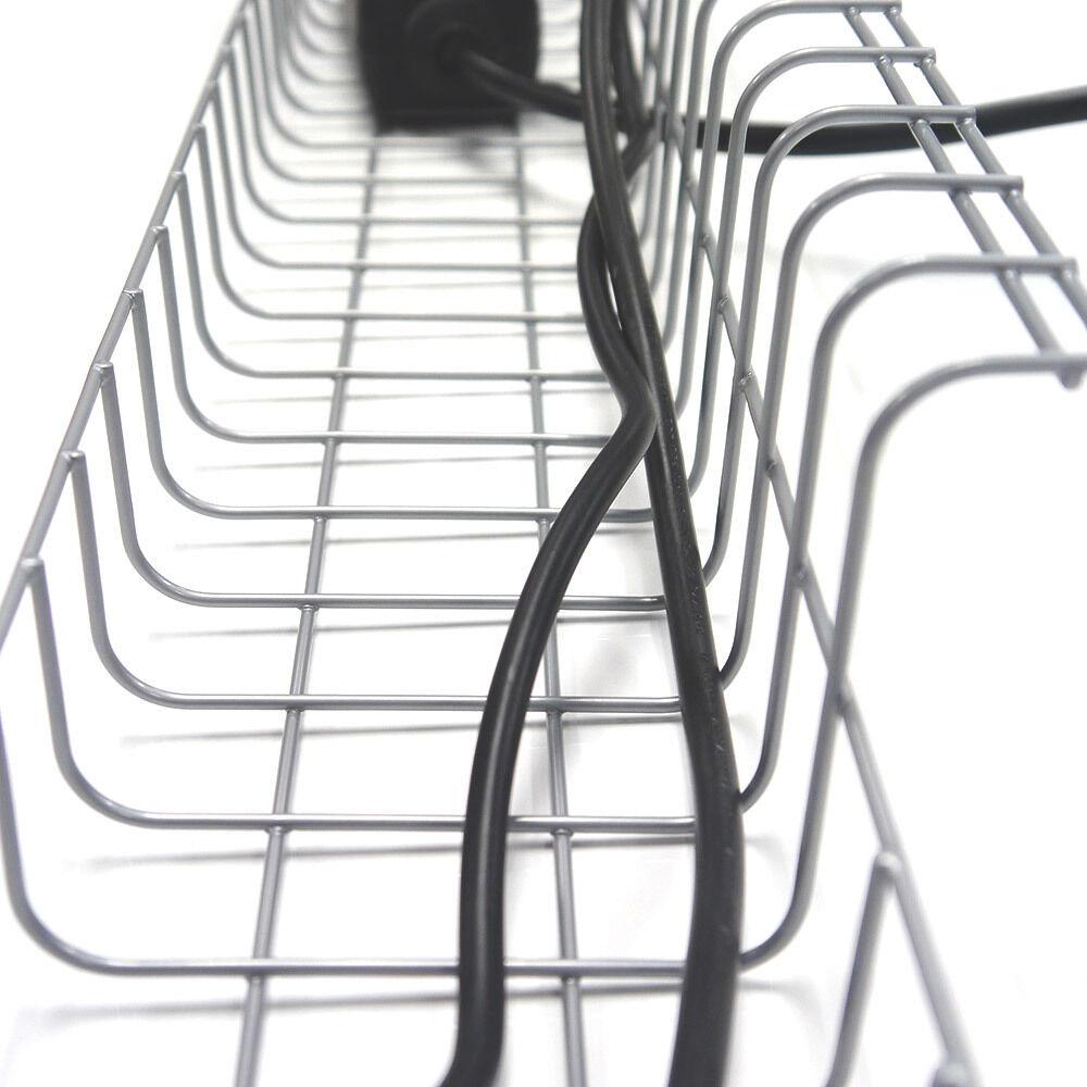 Kabelkorb 790 mm für Schreibtische | Gitter Kabelwanne Kabelkanal ...