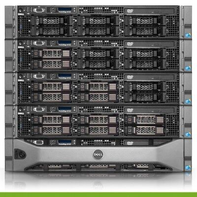 Dell PowerEdge R710 Virtualization Server 8 Core 48GB 4x300GB 15K 1.2TB PERC6i