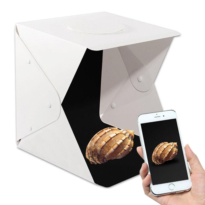 """16"""" Portable Light Room Photo Studio Photography Lighting Tent Kit Mini Box"""