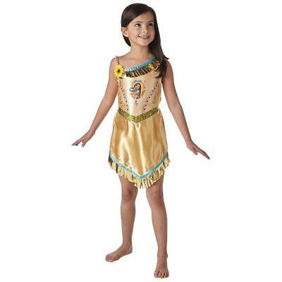 Rub - Disney Kinder Kostüm Indianerin Pocahontas Karneval