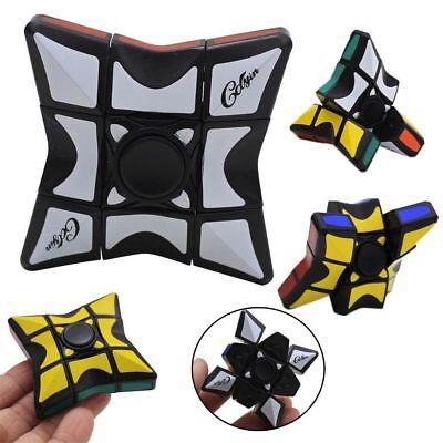 Rubik Magic Cube Fidget Spinner Hand Spinner EDC Focus ADHD Autism Rubik