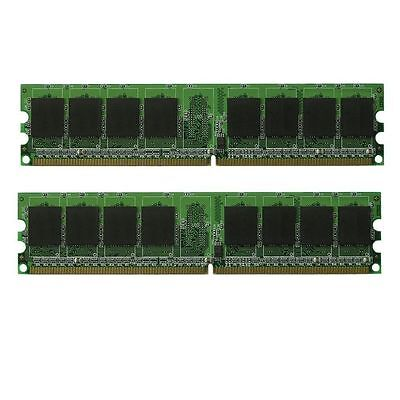 NEW! 4GB (2X2GB) MEMORY 256X64 PC2-5300 667MHZ 1.8V NON ECC DDR2 240 PIN - Pc25300 Non Ecc 240 Pin