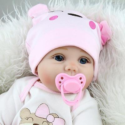 223939 Lifelike Newborn Silicone Vinyl Reborn Gift Baby Doll Handmade Reborn Dolls