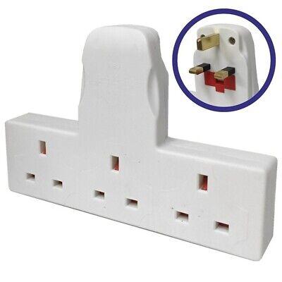 3 Toma Extensión Multiposición Adaptador Enchufe Cable Red Eléctrica 13 Amps