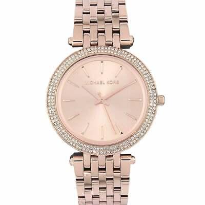Michael Kors MK3192 Ladies Darci Rose Gold Bracelet Quartz Watch