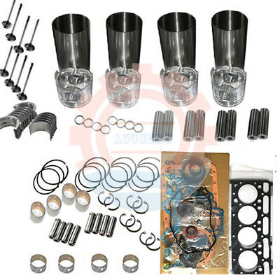 Rebuild Kit For Kubota V1505 Engine B2910hsd B7820hsd B3030hsd B3030hsdc B3200hs