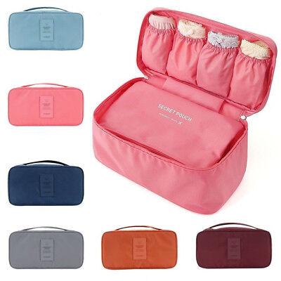 Bra Underwear Socks Lingerie Handbag Organizer Bag Storage Case For Travel (Socks Case)