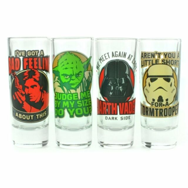 Star Wars - Classic Quotes Shot Glass Set