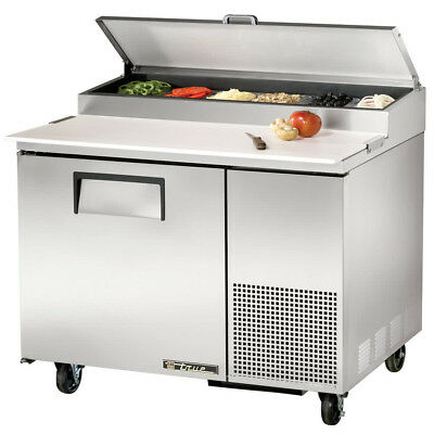 True Tpp-44 Commercial Solid Door Pizza Prep Table