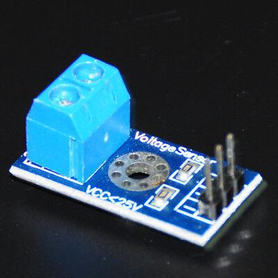 10pcs Voltage Sensor For Arduinoraspberry Pi Voltage Detector Module Max 25v
