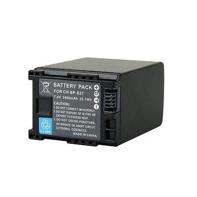 3400mAh Intelligent Replacement Battery for CANON BP-807 BP-809 BP-819 BP-827