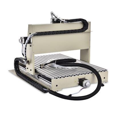 Diy 3d Metal Carving Milling Machine 3 Axis Cnc 6040 Router 1.5kw Vfd Engraver