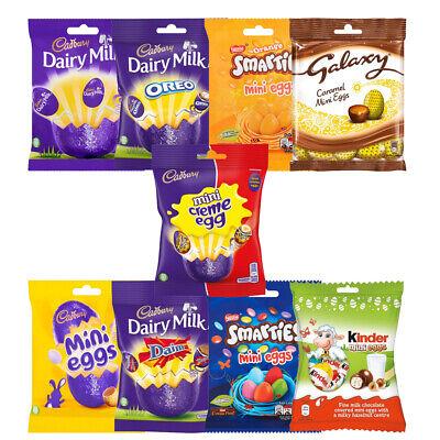 Mini Easter Egg Cadbury Oreo Smarties Galaxy Creme Kinder Choco Randomly Pick ()