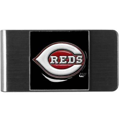 Cincinnati Reds MLB Stainless Steel Money Clip