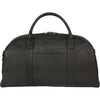 "Kenneth Cole New York Business Colombian Leather 20"" Travel Duffel NEW"