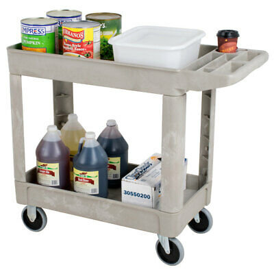 Rubbermaid - Polypropylene Flat Handle Utility Cart 500 Lb.