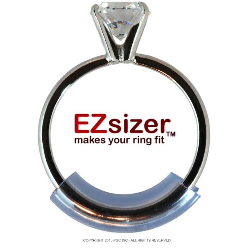 Ring Guard by EZsizer- 3 pack (1-narrow, 1-medium, 1-wide) Ring Size Reducer