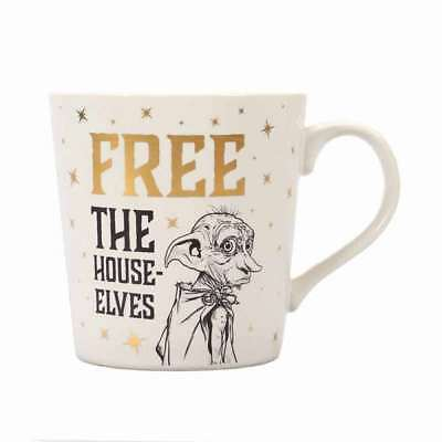 OFFICIAL HARRY POTTER DOBBY FREE  THE HOUSE ELVES COFFEE MUG