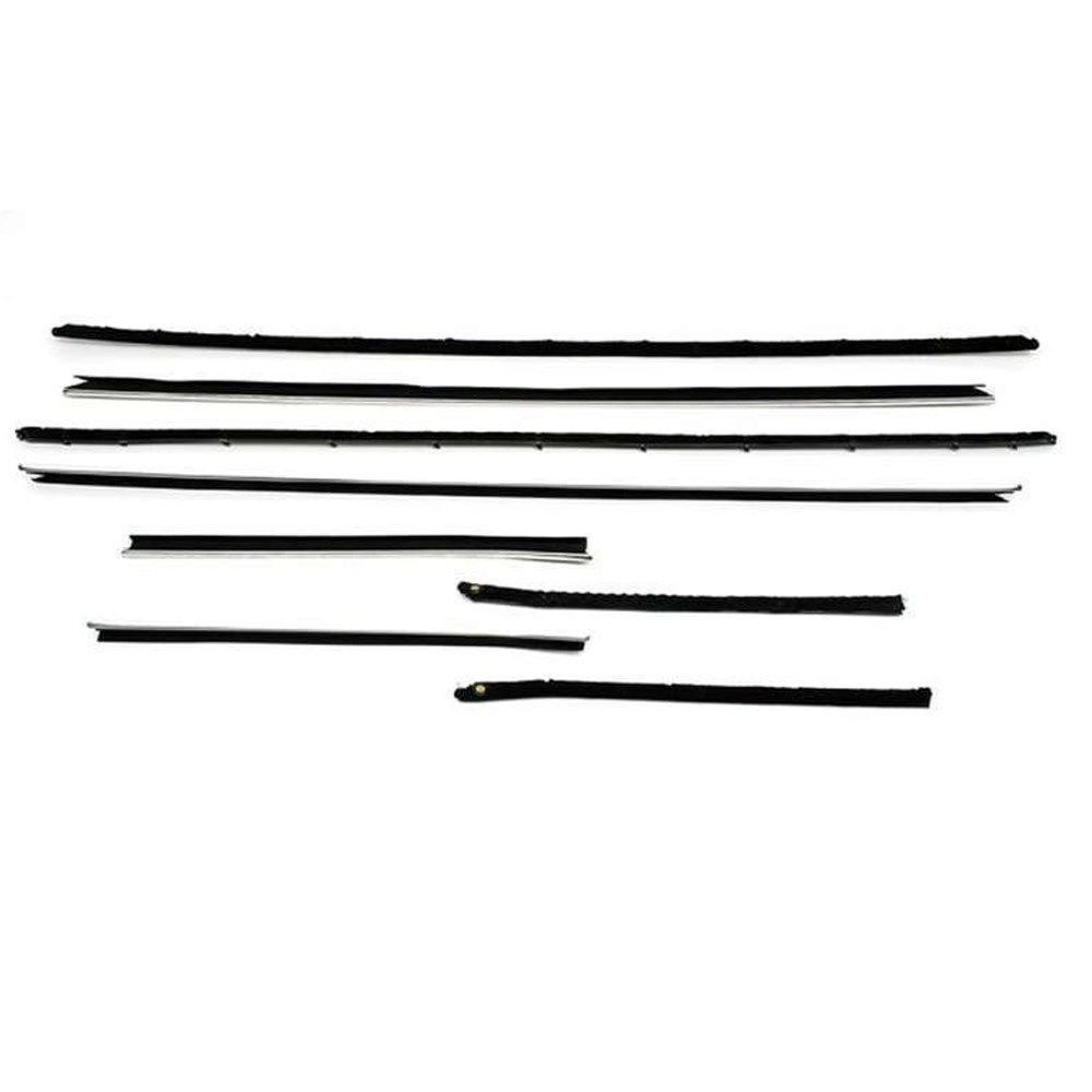 1969-70 Impala Windowfelt Kit 8pc Sport Coupe Reproduction