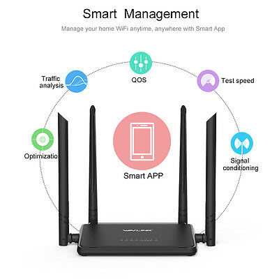 - 300Mbps Wireless-N Router,WiFi Range Extender for Home Office& 2.4G Smart Router