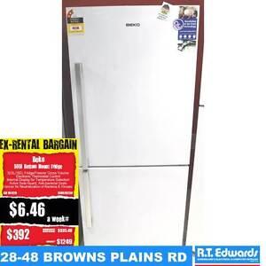 Beko 505 Litre Bottom Mount Fridge/Freezer - Warranty Browns Plains Logan Area Preview
