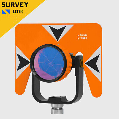 New All Metal 62mm Total Station Prism Trimble Topcon Sokkia Copper Plated