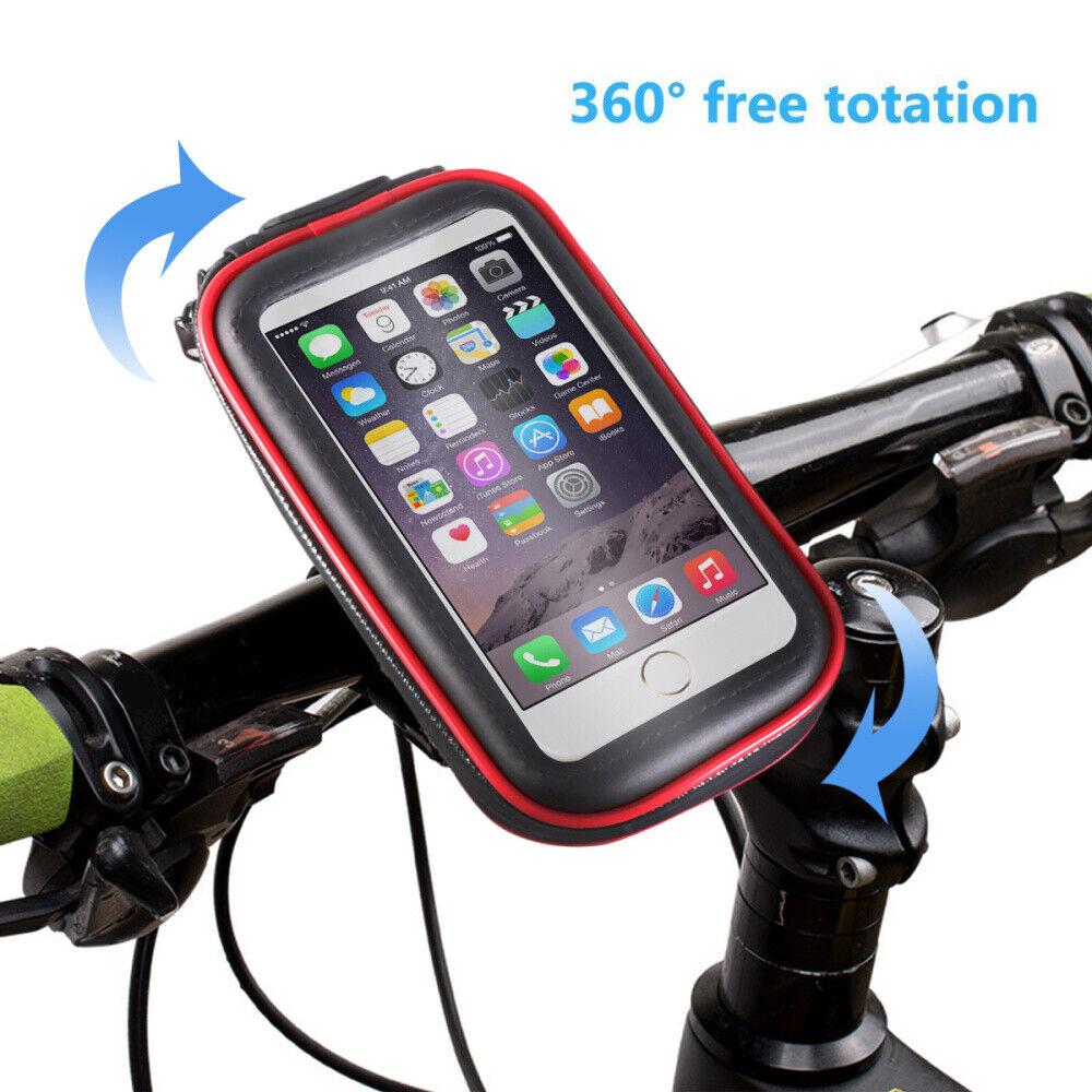 Motorrad Fahrrad Magnet Navihalterung Smartphone Handy Halter Tasche  !