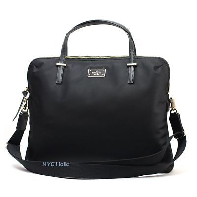 Kate Spade Wilson Road Daveney Laptop Shoulder Bag Handbag Briefcase in Black