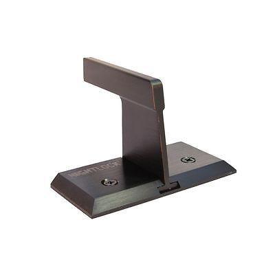 Patio Sliding Door Wall Barricade Brace NIGHTLOCK Dark Bronze Security Lock ()