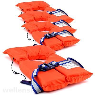 4 x Schwimmwesten Rettungsweste Setangebot Unisex 55 - 100kg Richtlinie 96/98EC