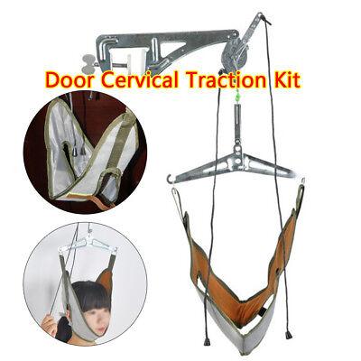 Traction Set (25 KG Over Door Neck Cervical Traction Unit Neck Decompression Home Device Set )