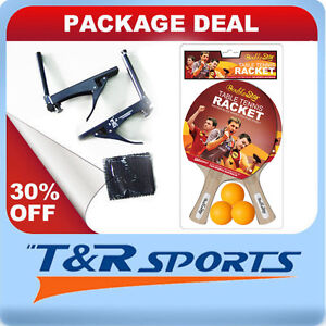 PACKAGE-DEAL-DOUBLE-STAR-RACKETS-BALLS-DOUBLE-FISH-TABLE-TENNIS-PING-PONG-NET