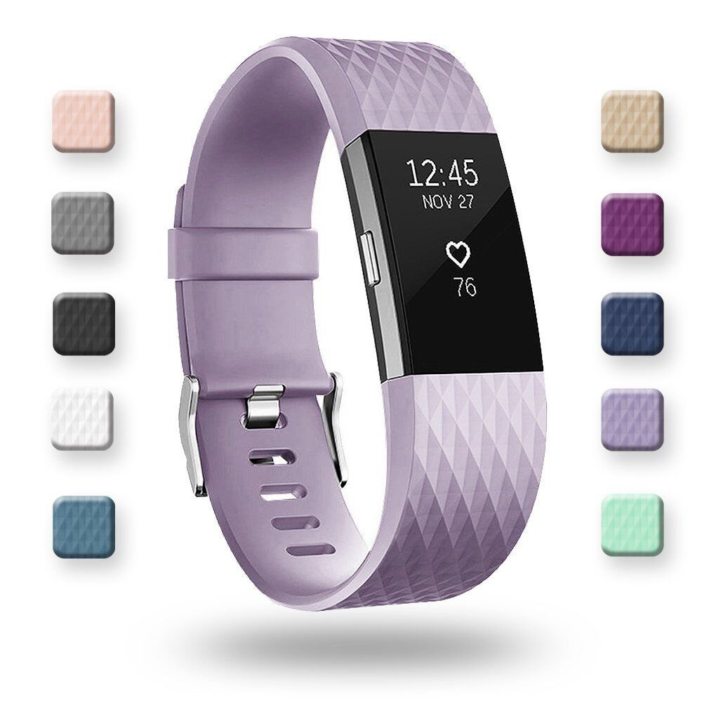 for-fitbit-charge-2-replacement-wristband-wrist-strap-smart-watch-band-lavende