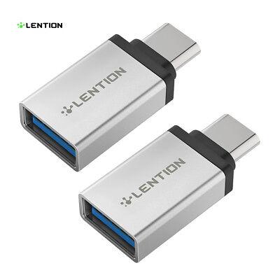 C3.1 Air (USB C Adapter Typ C 3.1 auf USB 3.0 Stecker für 2019 MacBook Air Pro Samsung HP)
