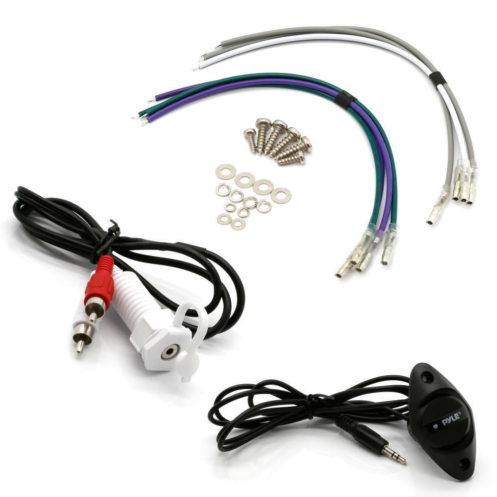 Pyle Auto 4-Channel Bridgeable Marine Amplifier - 200 Watt R