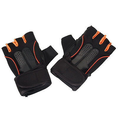 Men's Weight Lifting Gym Fitness Workout Training Exercise Half Gloves US Stock