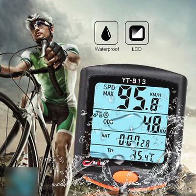 Radsport Fahrradcomputer Fahrrad Tacho Kilometerzähler Digital Tachometer Reitem online kaufen